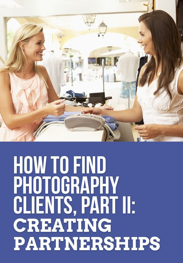 how to find clients for photography