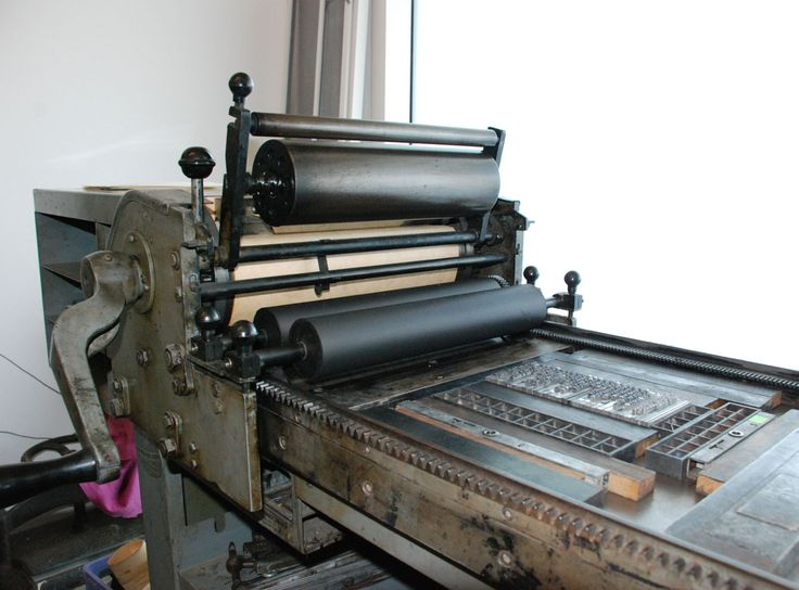The 173 Best Printing Press Images On Pinterest