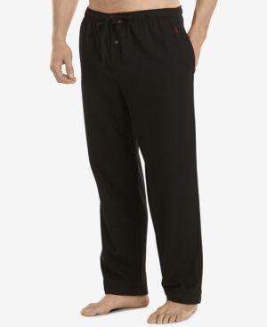 Polo Ralph Lauren Men's Flannel Pajama Pants - Black XL