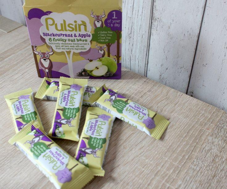 Pulsin' Fruity Oat Bars for Children