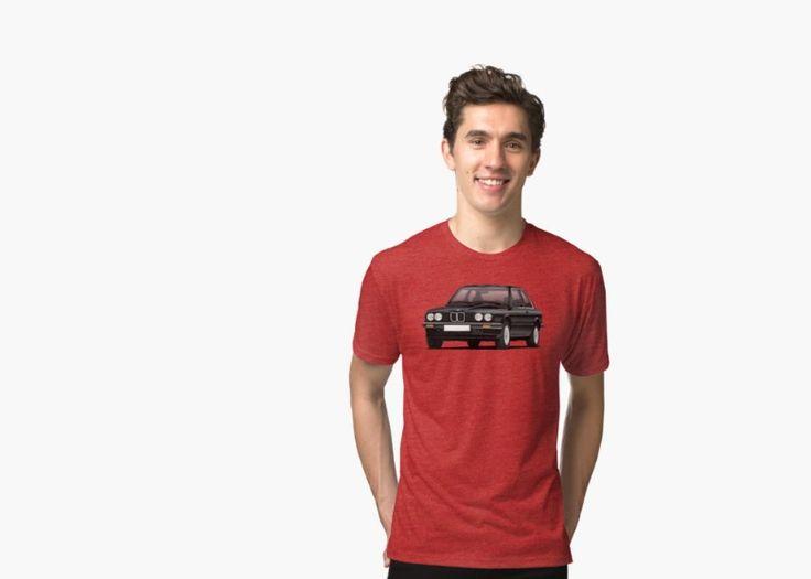 BMW E30  (3 Series) T-shirts.  http://automobile-t-shirts.blogspot.fi/search/label/BMW  #bmw #e30 #bmwe30 #bmw3 #automobile #tshirts #illustration #classiccars #carillustrations #auto #90s #80s #redbubble
