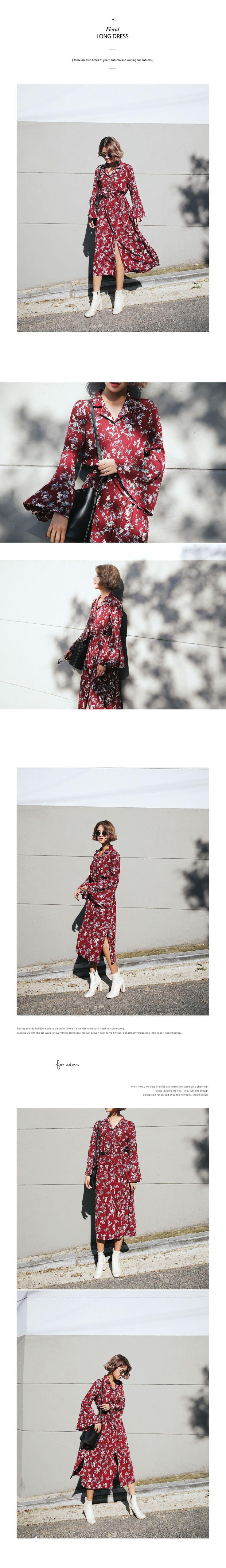 ストラップSETベルスリーブ小花柄ワンピース・全3色ドレス・ワンピドレス・ワンピ レディースファッション通販 DHOLICディーホリック [ファストファッション 水着 ワンピース]