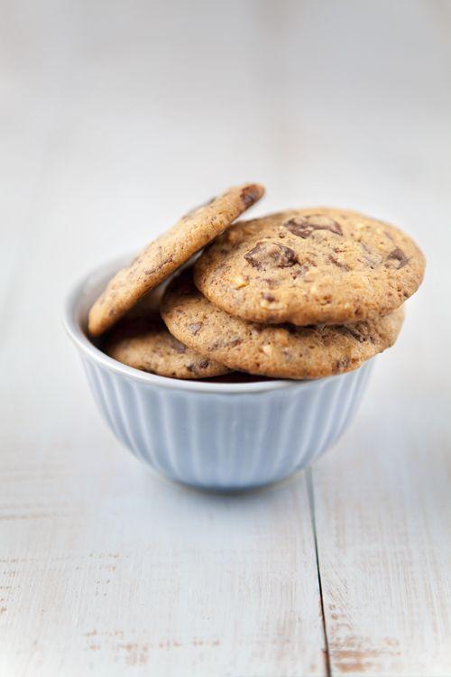 Cookies de chocolate y avellanas