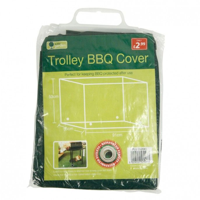 TROLLEY BBQ COVER | Poundstretcher
