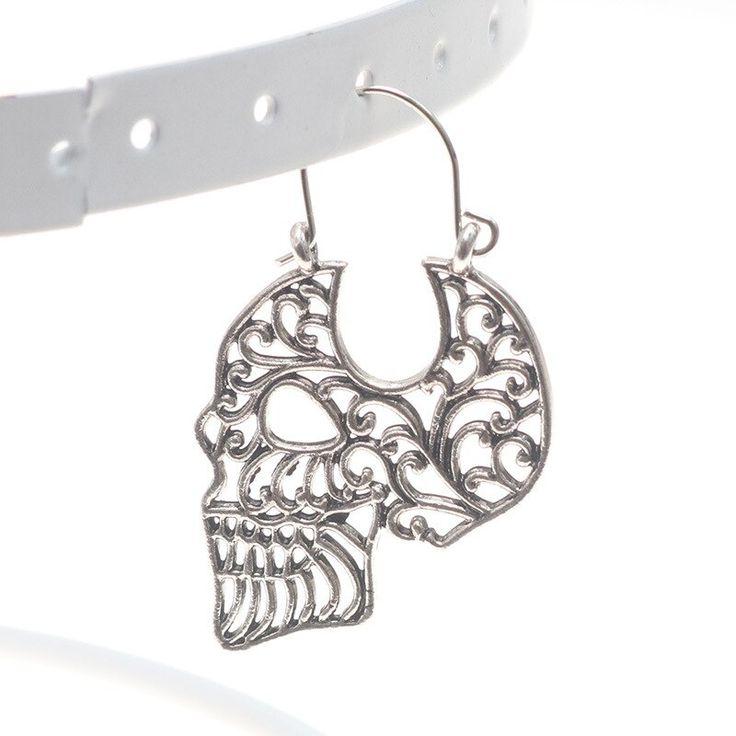 Schädel hohl Ohrring Schädel Ohrringe Schädel Schmuck Dropshipping   – Products