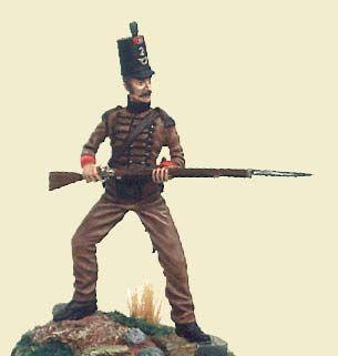 Guerras napoleónicas - Soldado português (Napoleonic Wars - Portuguese soldier)