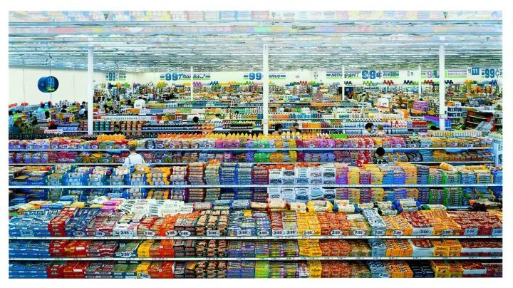 Mmmmm... Don't the colours and general feel just make you wanna satisfy that old hunger?: Andreas Gursky, Art, Cent Ii, Most Expensive, Photography, 99 Cent