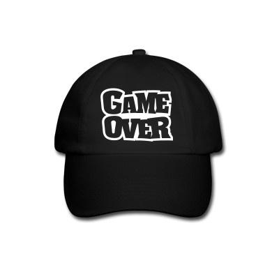 """Berretto da baseball """"Game Over"""""""