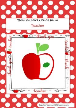 Letters to Teachers (from students) AUS VERSION