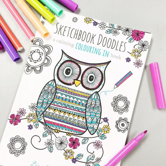 Colouring In Book With 34 Pages