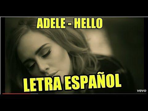 Adele - Hello LETRA ESPAÑOL[LYRICS]