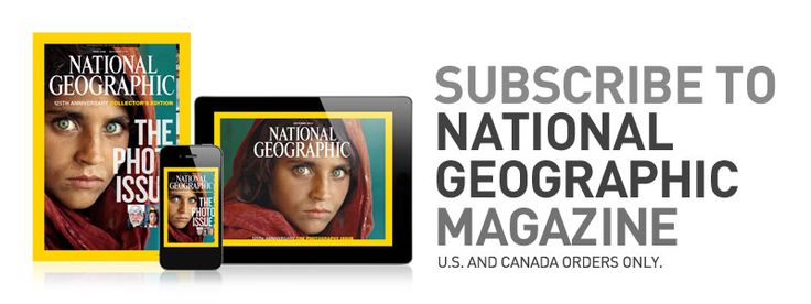 National Geographic magazine subscription - $24 for the year
