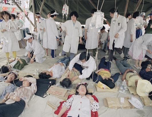Tiananmen Square Peaceful Hunger Strikers
