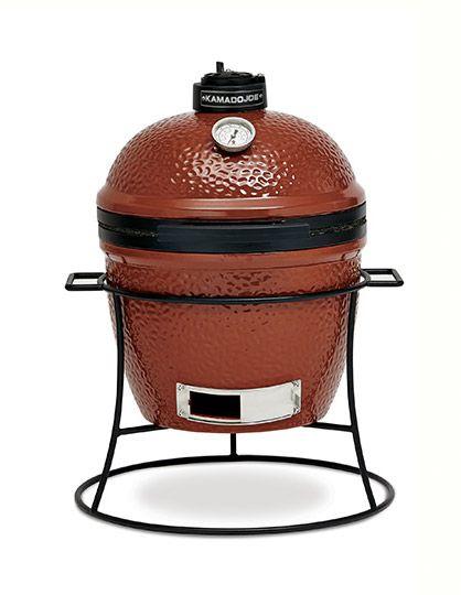 Kamado Joe Joe Jr Ceramic Grill w/Cart - KJ-13BH, KJ-13RH