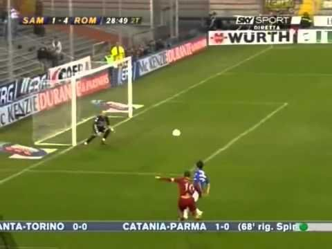 Totti: Sampdoria - Roma (2006)