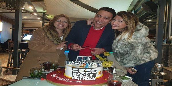 بالصور نجوم مسلسل ياسمينا يحتفلون بعيد ميلاد محمد الغيطي التحرير نت Christmas Sweaters Sweaters Fashion