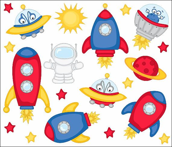free clipart alien spaceship - photo #41