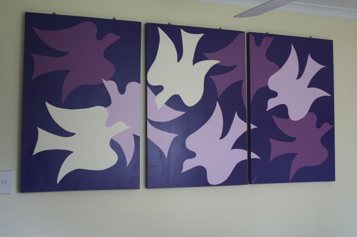 Design your own stencil... grab a few paints... and create