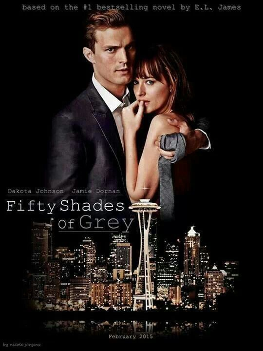 Movie poster february 2015 my fifty shades of grey for Movie the fifty shades of grey