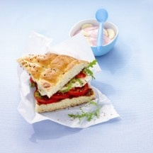 WeightWatchers.nl: Weight Watchers Recepten - Turks brood caprese