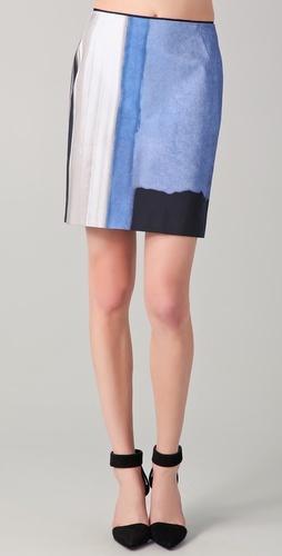 so rothko.  love it: Tahari Skirt, Skirt Thestylecure Com, Skirts, Elva Skirt, Style Pinboard, White Elie, Elie Turns, Tahari Elva