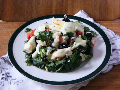 Makacska konyhája: Fodros kelbimbó saláta