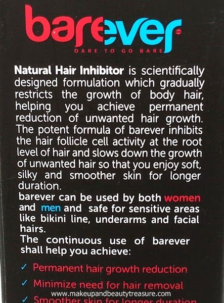 Sneak Peek: Barever Natural Inhibitor