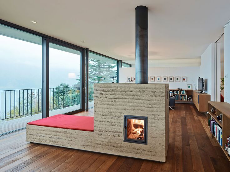 345 best Ofen images on Pinterest Fire places, Fireplaces and - wohnzimmer modern mit ofen