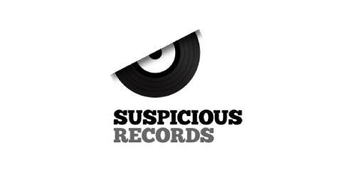 """Suspicious Records"" Logo"