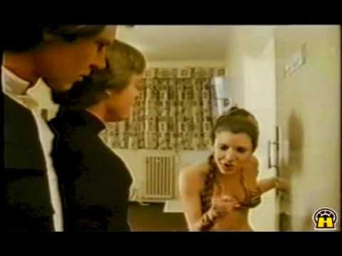 What does Carrie Fisher wear in her dressing room? - YouTube