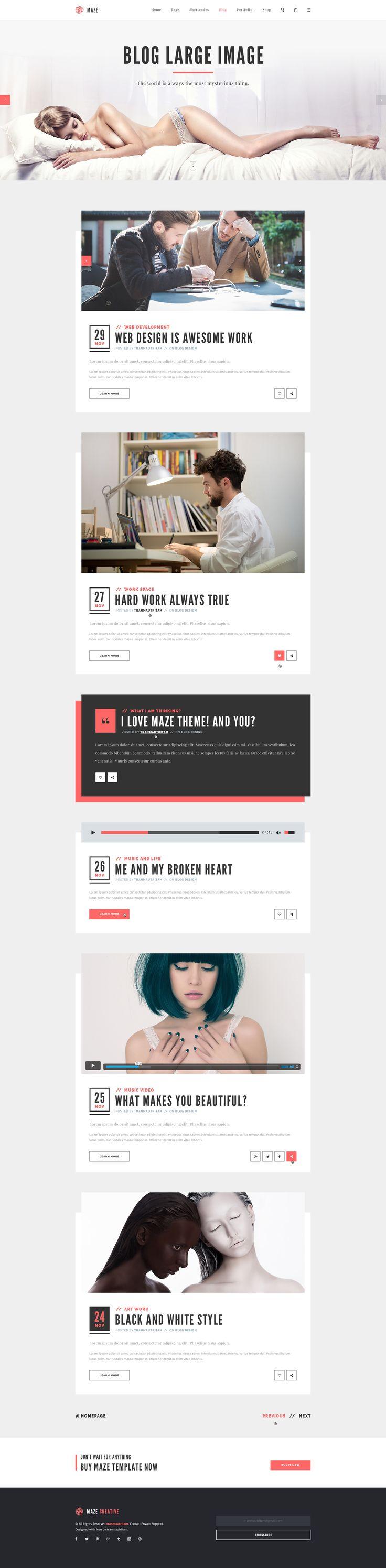 Maze   Creative Agency PSD Template UI #mobile #nike #digital #mobile #ui #uidesign #uxdesign #mobileappui #UIUX#webdesign #color #photography #typography #ResponsiveDesign #Web #UI #UX #WordPress #Resposive Design #Website #Graphics