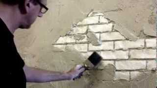 scenic painting techniques - YouTube