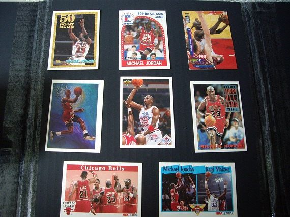 Fourteen Michael Jordan Basketball Stats Cards, Sports Collectibles. by aquarius247 on Etsy