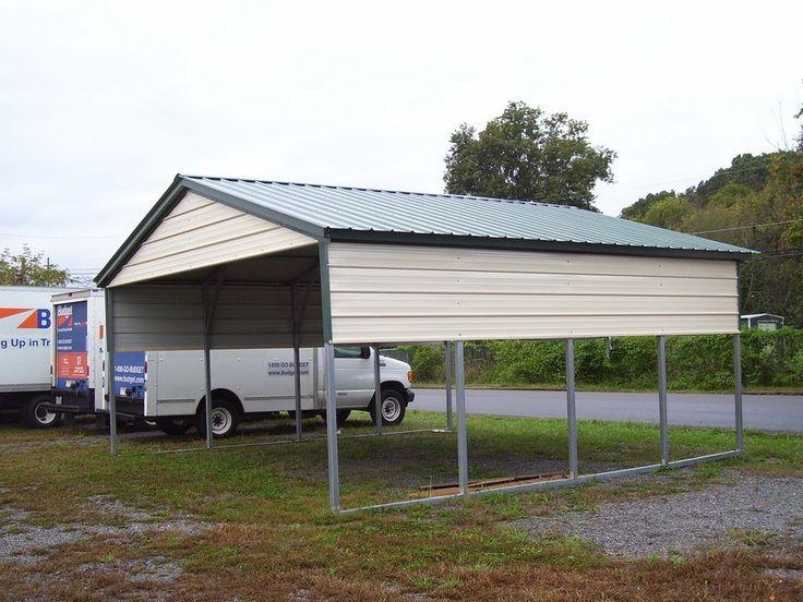 Best 25 steel carports ideas on pinterest all steel for Different carport designs