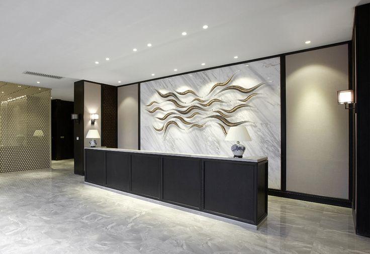 Nootau - wall sculpture made of hand-blown glass