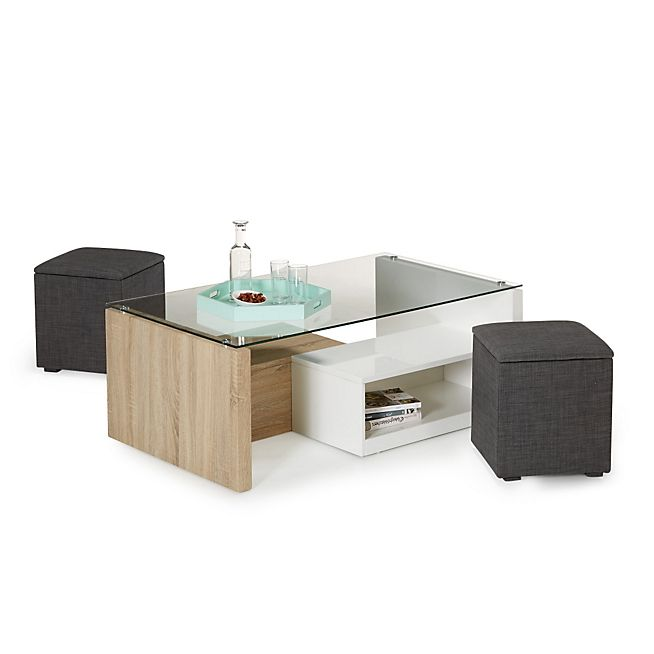 25 best ideas about table basse avec pouf on pinterest table basse pouf p - Table basse rangement bouteilles ...