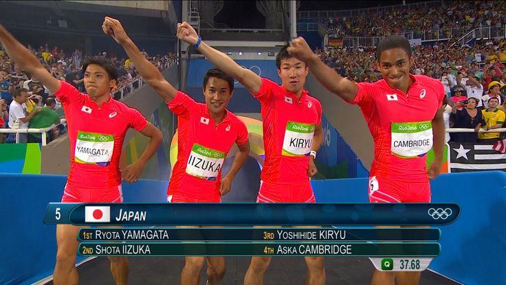 【NHKリオ】ノーカットで400mリレー! アジアの短距離史上 最速の走りを目撃せよ