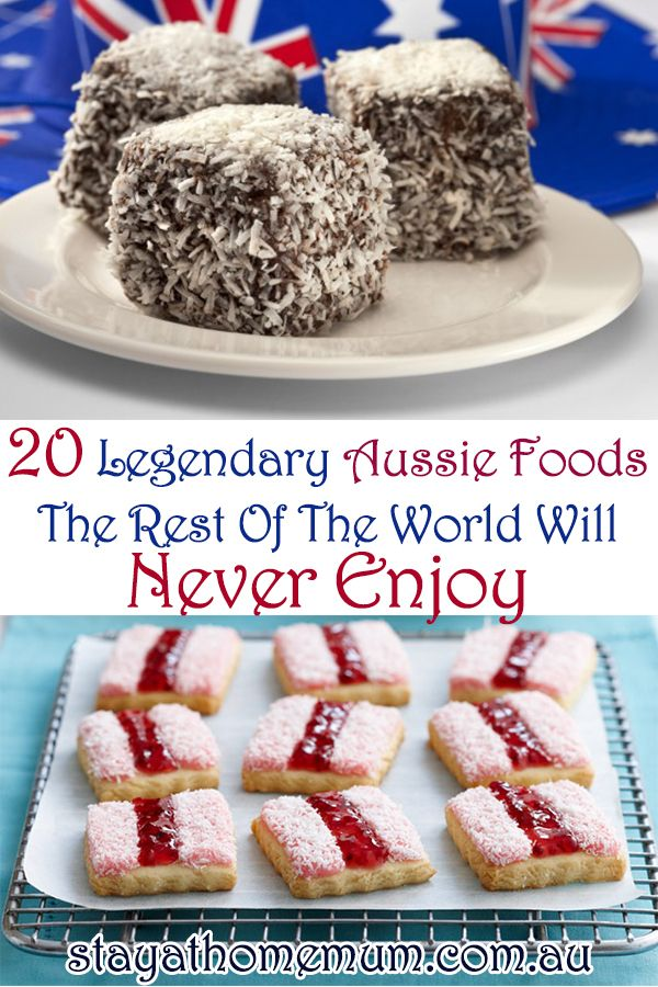 20 Legendary Aussie Foods The Rest Of The World Will Never Enjoy - Stay at Home Mum