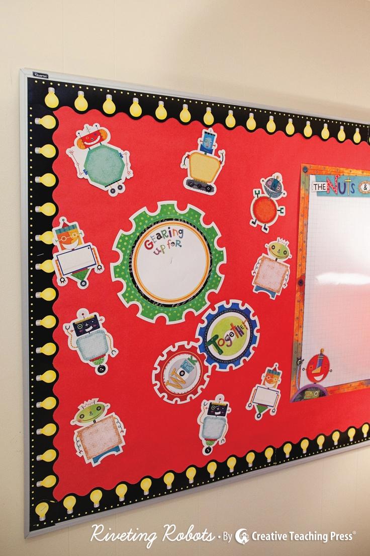 Creative Teaching Press Classroom Decorations : New riveting robots decor by creative teaching press
