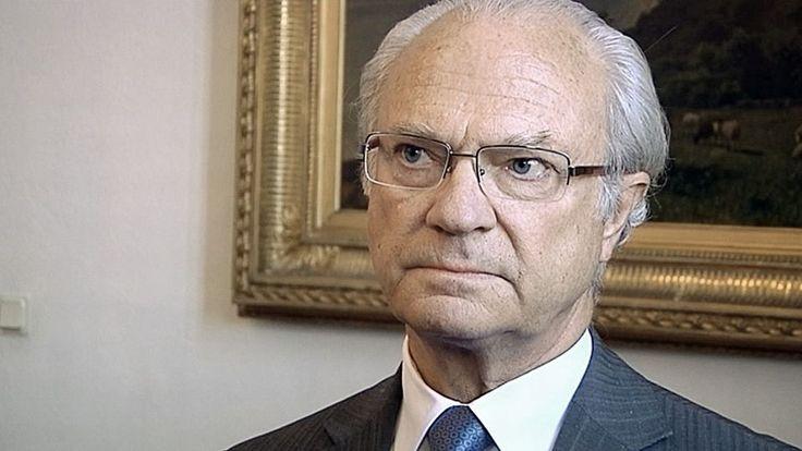 Ruotsin kuningas Kaarle XVI Kustaa.