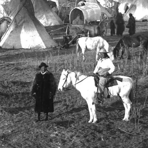 Young Man Afraid Of His Horses (on horseback) - Oglala - circa 1891