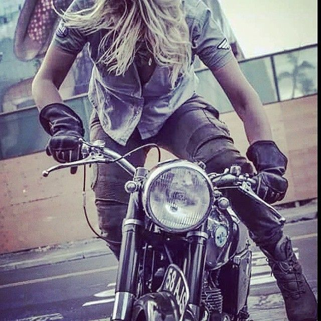 Hot Girl Cafe Racer Tumblr Wallpapers