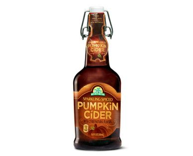 ... Pumpkin Cider - Delicious on it's own. Mixes well with bourbon for a