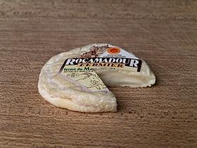 Rocamadour (fromage)     -------------Pays d'origine  France   Périgord & Quercy     Lait de  chèvre cru     Pâte  molle     Appellation, depuis  AOC, 1996