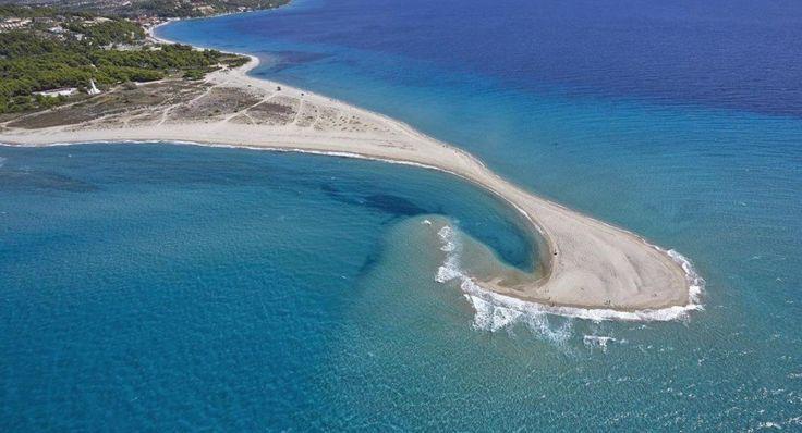 "Cavo Possidi in Halkidiki, ""Miti"" beach"