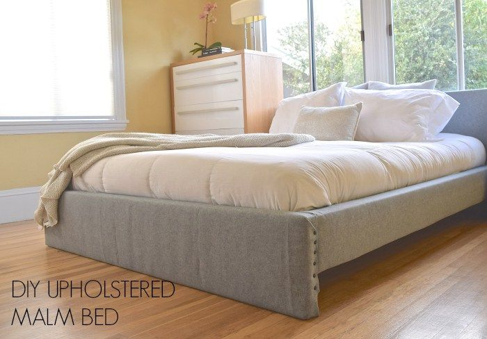 DIY: Upholstered Malm Bed • they call her flipper...