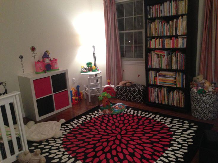 Tradklover Rug Expedit Totes Pink And Black Girls Room