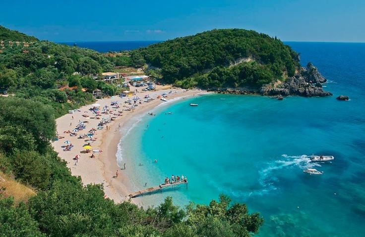 GREECE CHANNEL | Sarakiniko beach in PARGA, Greece