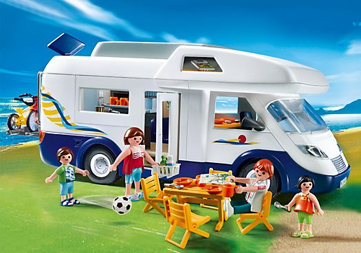 4859 Grand camping-car familial - PM France PLAYMOBIL® France 39.90€