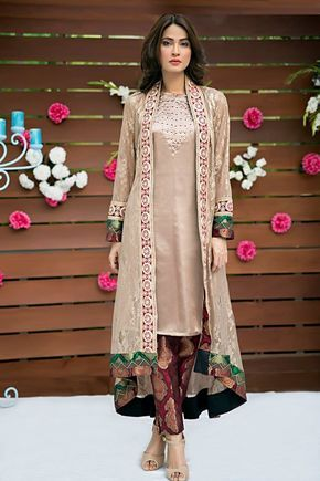 Latest Eid Formal Dresses By Zainab Hasan Collection 2015-2016   GalStyles.com